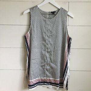 Ann Taylor tank dress shirt blouse tee